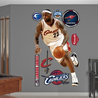 Fathead LeBron James Throwback Wall Decals