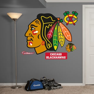 Fathead Chicago Blackhawks Logo Wall Decals