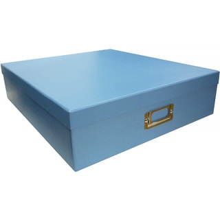 Pioneer Photo Albums Sky Blue Scrapbooking Storage Box (Set of 6)