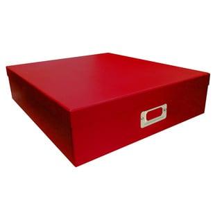 Pioneer Photo Albums Red Scrapbooking Storage Box (Set of 6)