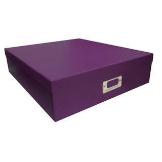 Pioneer Photo Albums Purple Scrapbooking Storage Box (Set of 6)