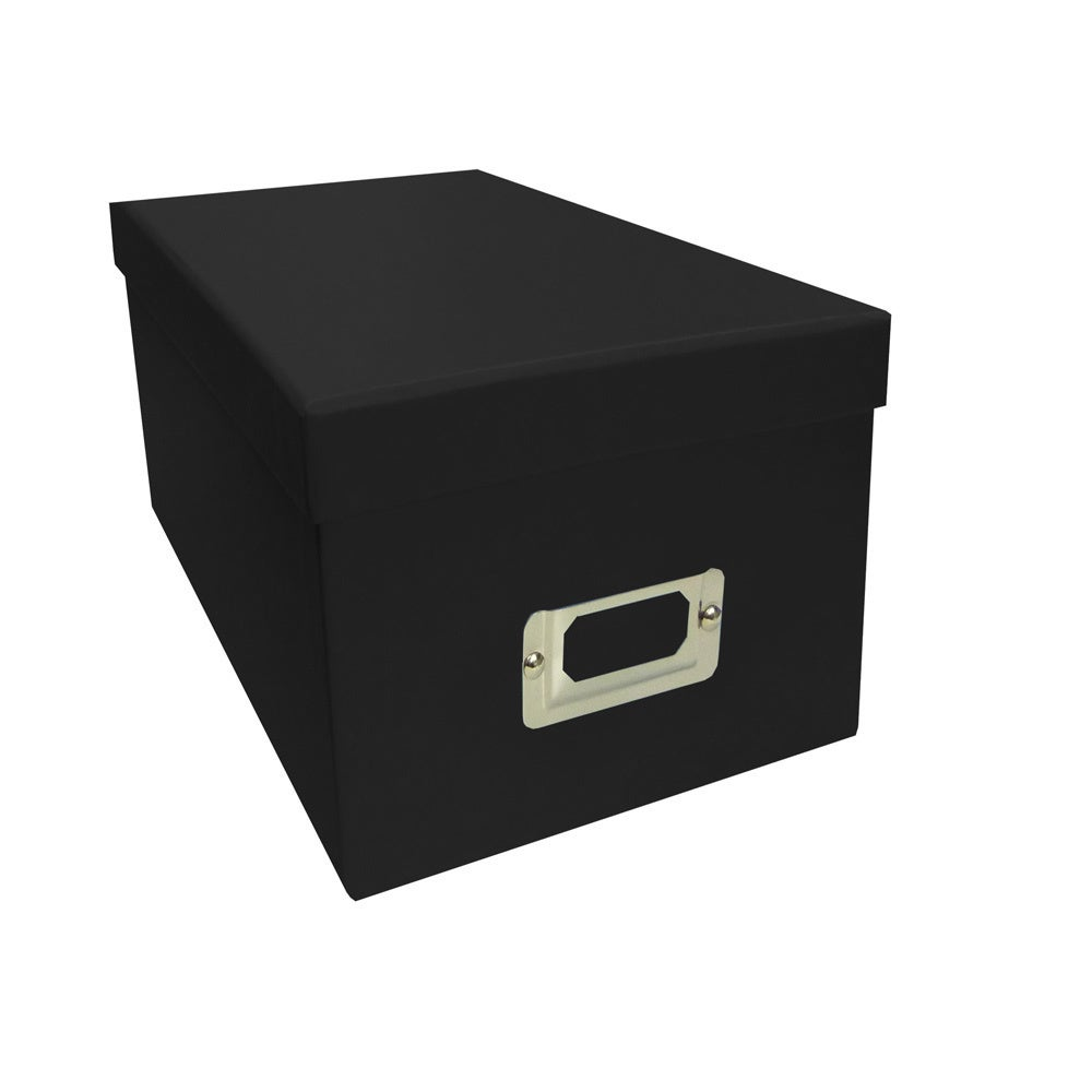 Pioneer Photo Albums Black CD/DVD Storage Box (Set of 6) ...