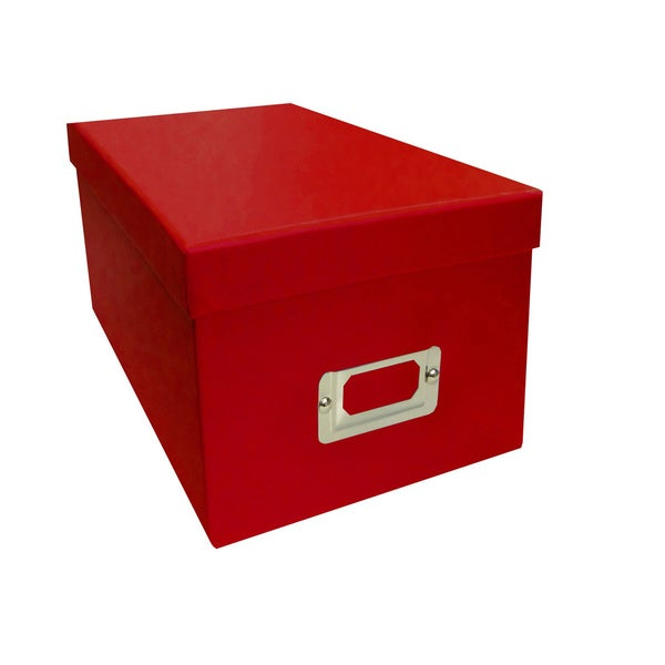 Pioneer Photo Albums Red CD/DVD Storage Box (Set of 6) - Free ...