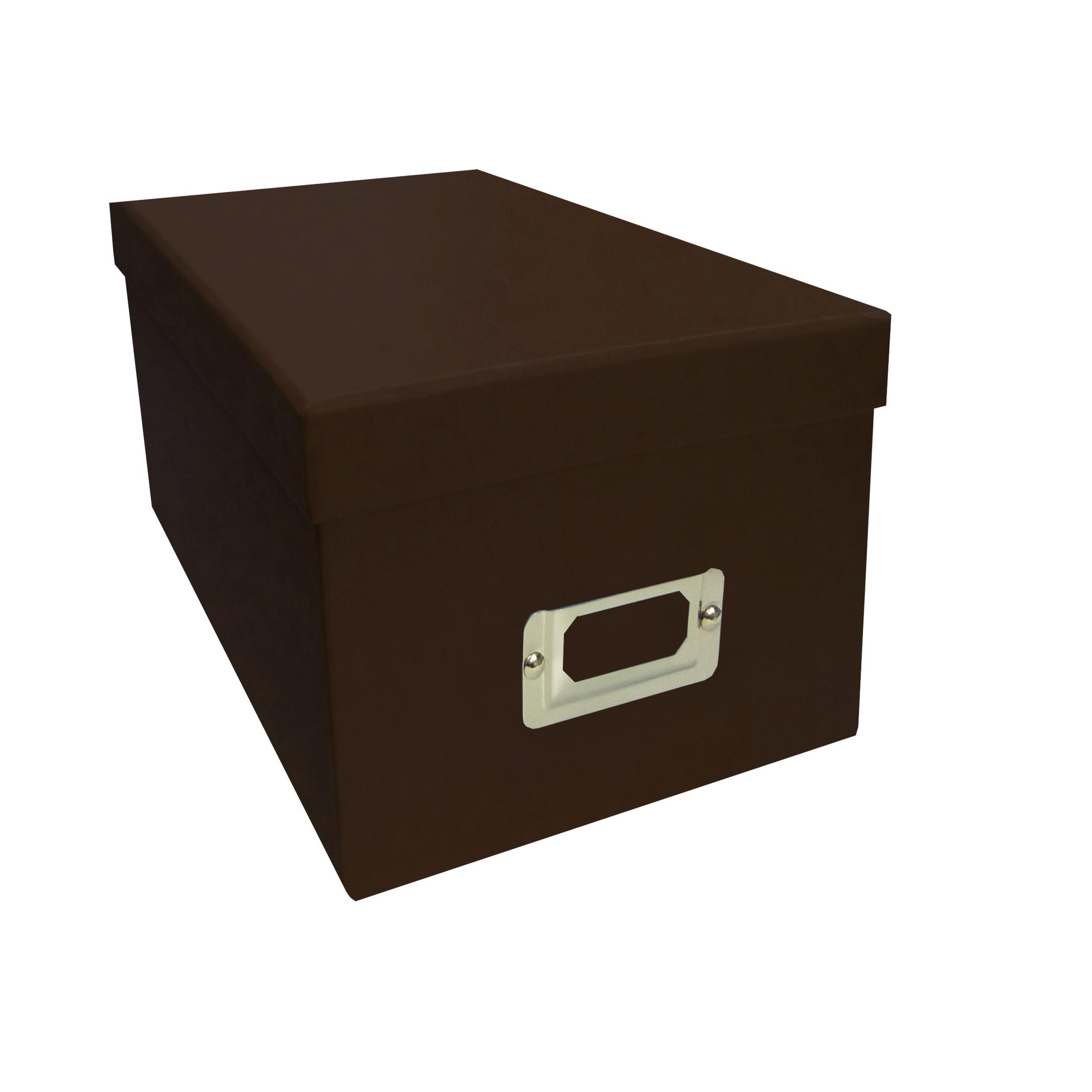 Pioneer Photo Albums Brown CD/DVD Storage Box (Set of 6) ...