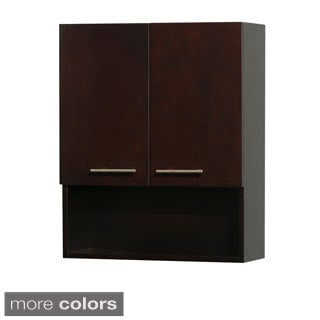 Wyndham Collection Centra 29-inch Bathroom Wall-Mounted Storage Cabinet (2-door)