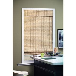 Chicology Roman Shade Privacy Fabric Bamboo Look Tuscan Bronze Beige (24-inch x 72-inch )|https://ak1.ostkcdn.com/images/products/9536491/P16715332.jpg?impolicy=medium