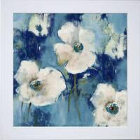 Lanie Loreth 'Autumn Begins Softly' Framed Art Print - Blue