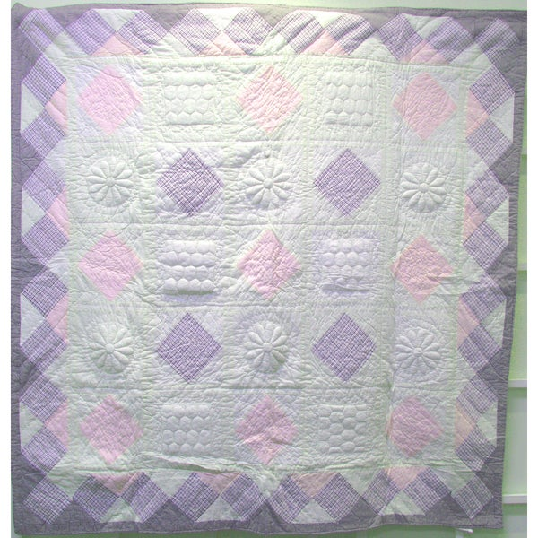 Sugarberry Quilted Throw Blanket