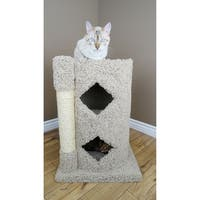 New Cat Condos 2-Story Solid Wood Cat Cavern