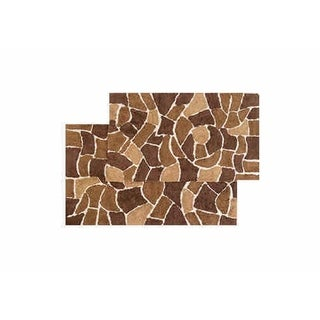 "Chesapeake Boulder 2 pc. Bath Rug Set (21""x34"" & 24""x40"") - 21""x34""/24""x40"""