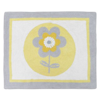 Sweet Jojo Designs Mod Garden Accent Floor Rug