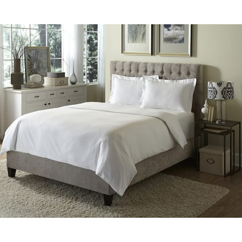 Hotel Damask 3-piece Duvet Cover Set