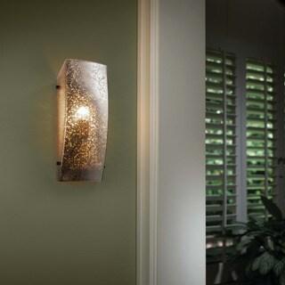 Justice Design Group Finials 1-light Dark Bronze Wall Sconce