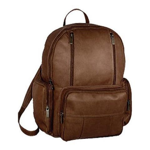 David King Leather 332 Laptop Pack Cafe