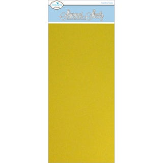 "Metallic Mylar Shimmer Sheetz 5""X12"" 3/Pkg-Yellow/Gold"