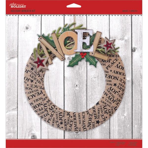 jolees christmas wreath kit - Horseshoe Christmas Wreath
