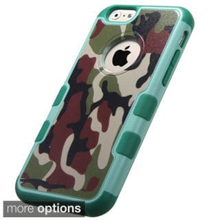 INSTEN Design Pattern TUFF Merge Hybrid Protector Cover For Apple iPhone 6