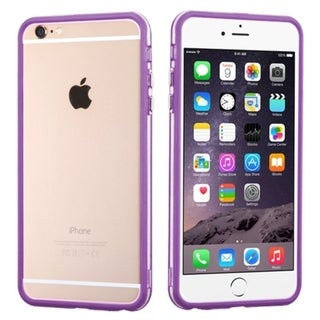 INSTEN Clear Bumper Phone Protector Cover For Apple iPhone 6 Plus