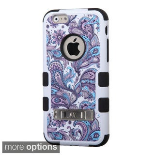 INSTEN TUFF Design Pattern Hybrid Protector Cover with Stand For Apple iPhone 6