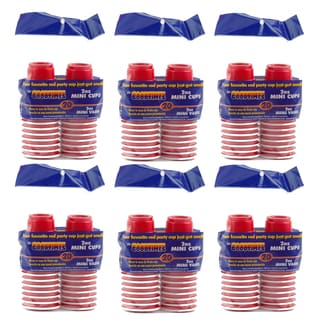 Goodtimes 2-ounce Mini Red Party Cups 120-count