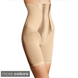 Flexees Women's Easy-Up High-waist Thigh Slimmer