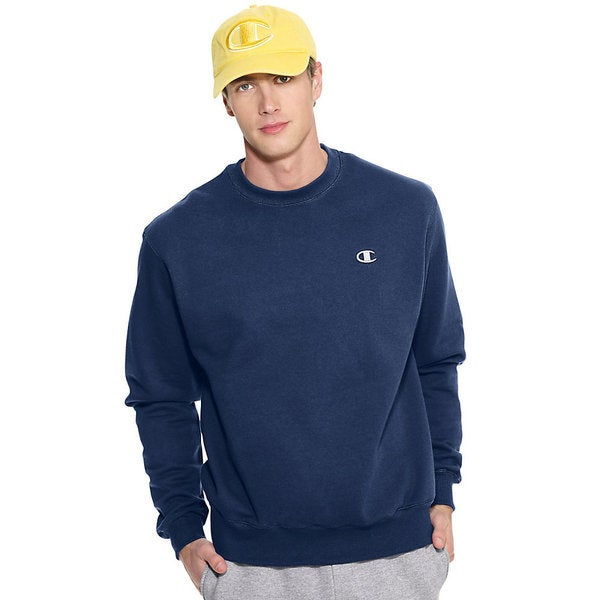 Champion Men's Eco Fleece Crewneck Sweatshirt - Free Shipping On ...
