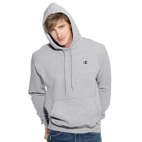 Champion Men's Eco Fleece Pullover Hoodie - Free Shipping On ...