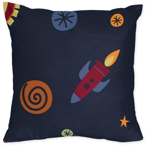 Space Galaxy Bedding Set 16-inch Throw Pillow