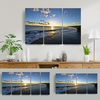 Read2HangArt Chris Doherty 'Day Break' 5-piece Canvas Wall Art