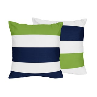 Stripe Collection 18-inch Decorative Throw Pillows (Set of 2)