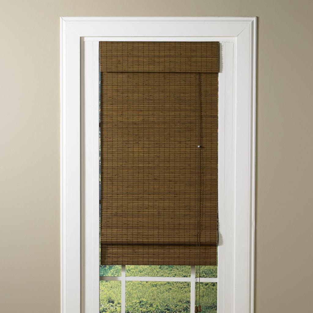 Lewis Hyman LaStella Collection Bamboo Roman Shade in Ses...