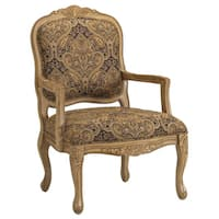 Copper Grove Castlerock French Provincial Accent Chair