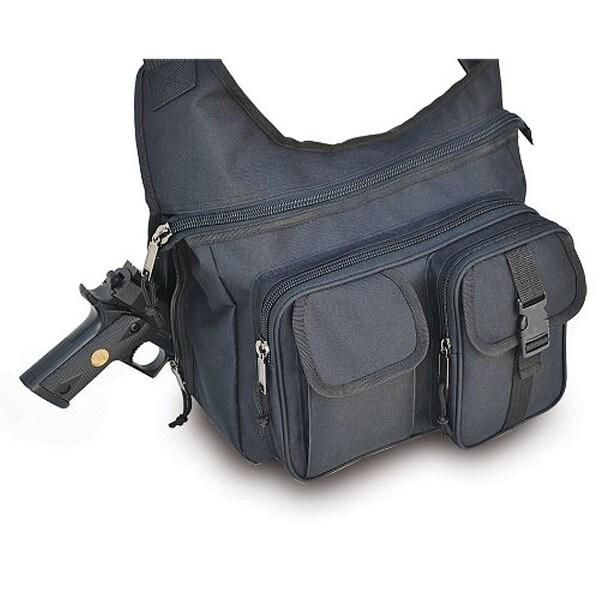 Explorer 17-inch Black Messenger Bag