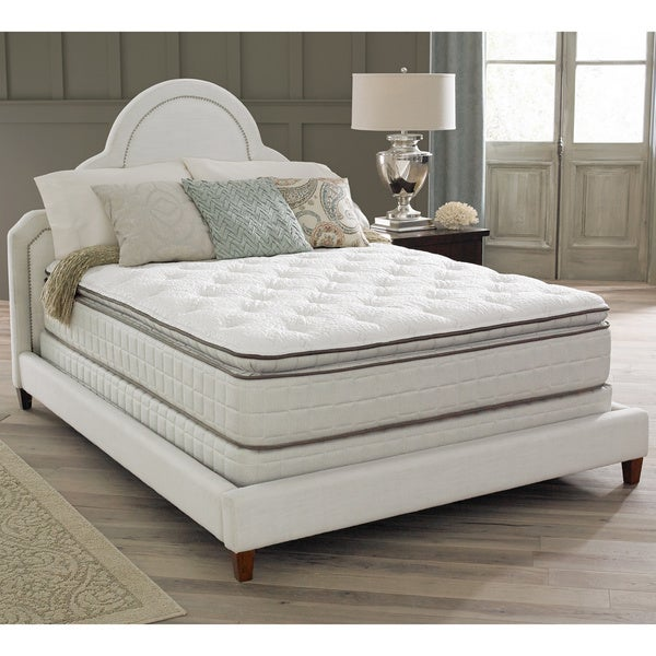 Spring Air Premium Collection Noelle Pillow Top King Size Mattress Set Free Shipping Today