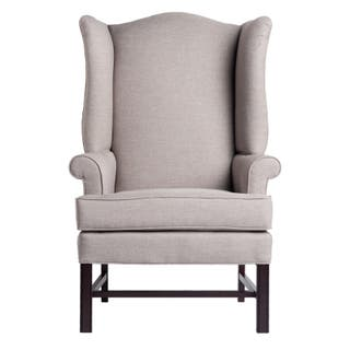 High back wingback chairs living room chairs for less - High back wing chairs for living room ...