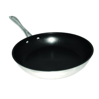 Stainless Steel 12-inch Non-stick Fry Pan