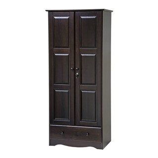 Copper Grove Caddo Flexible Solid Wood Customizable Wardrobe