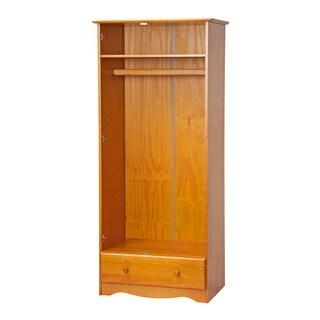 Palace Imports Flexible Solid Wood Customizable Wardrobe