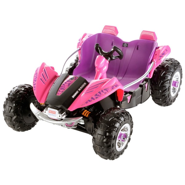 Shop Power Wheels Pink Dune Racer