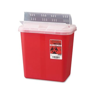 Covidien Sharps 2-gallon Container with Lid