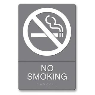 U.S. Stamp & Sign ADA Plastic No Smoking Sign
