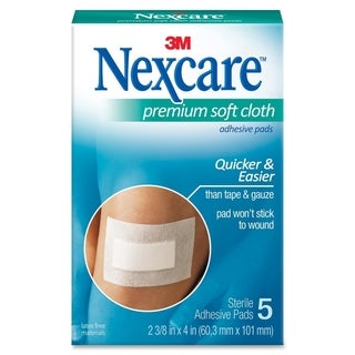3M Nexcare Soft Cloth Premium Adhesive Gauze Pad