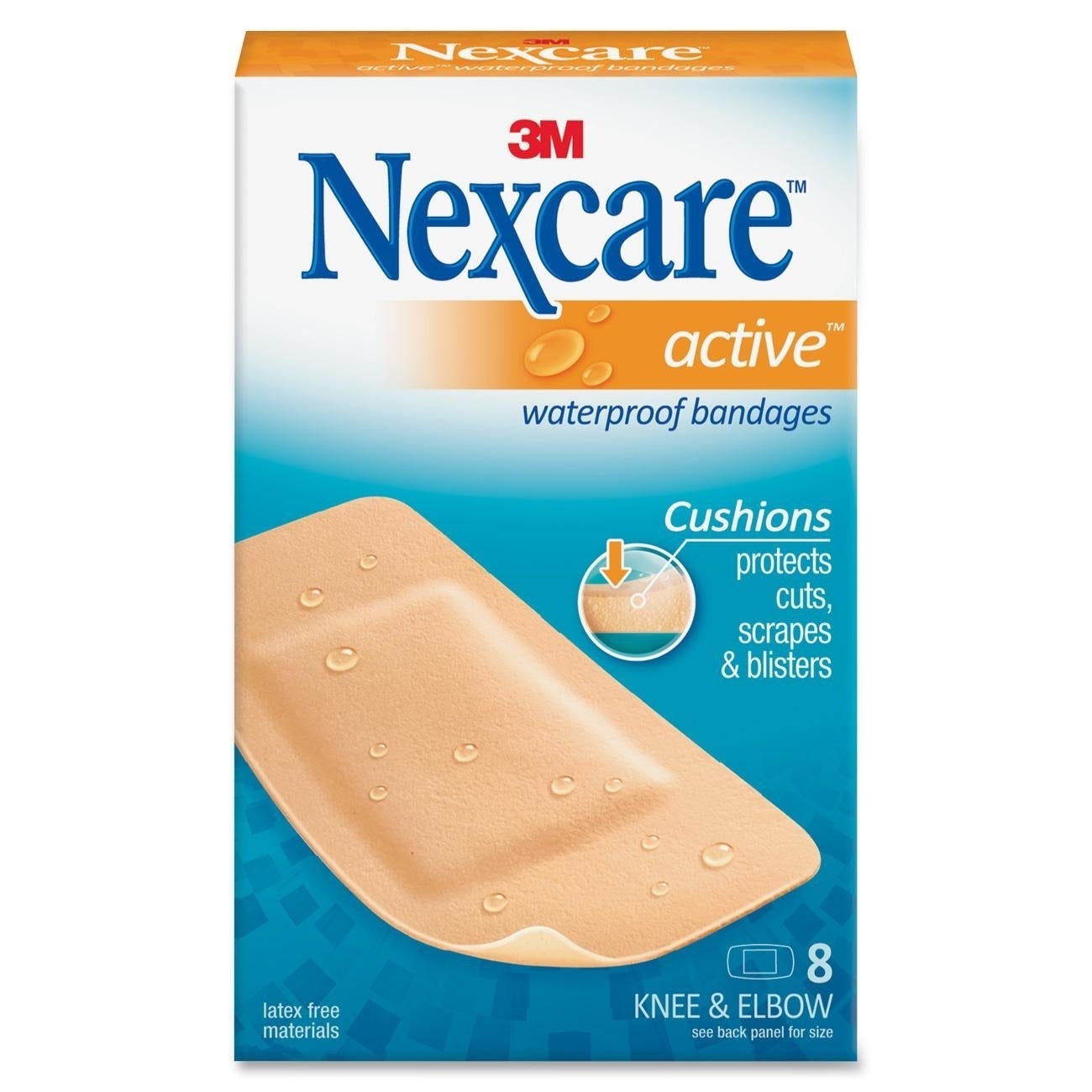 3M Nexcare Extra Cushion Knee/ Elbow Bandages (MMM51108)