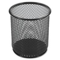 Lorell Black Mesh/ Wire Pencil Cup Holder