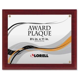 Lorell Mahogany Award-A-Plaque https://ak1.ostkcdn.com/images/products/9538768/P16718597.jpg?impolicy=medium