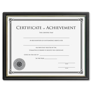 Lorell Ready-to-use Frame with Certificate of Achievement https://ak1.ostkcdn.com/images/products/9538771/P16718600.jpg?impolicy=medium