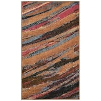 Nourison Perception Multicolor Abstract Rug (7'9 x 10'10)
