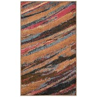 "Nourison Perception Multicolor Abstract Rug - 2'3"" x 7'6"" Runner"