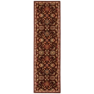 kathy ireland Ancient Times Ancient Treasures Brown Area Rug by Nourison (2'2 x 7'6)