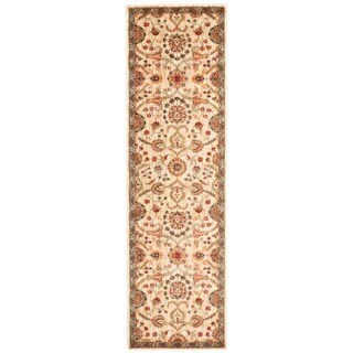 kathy ireland Ancient Times Persian Treasure Ivory Area Rug by Nourison (2'2 x 7'6)